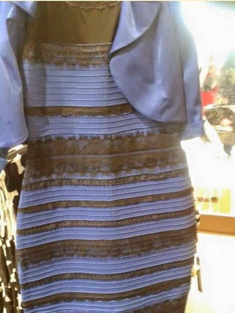 Blue and Black, White and Gold DRESS goes VIRAL & The Explanations