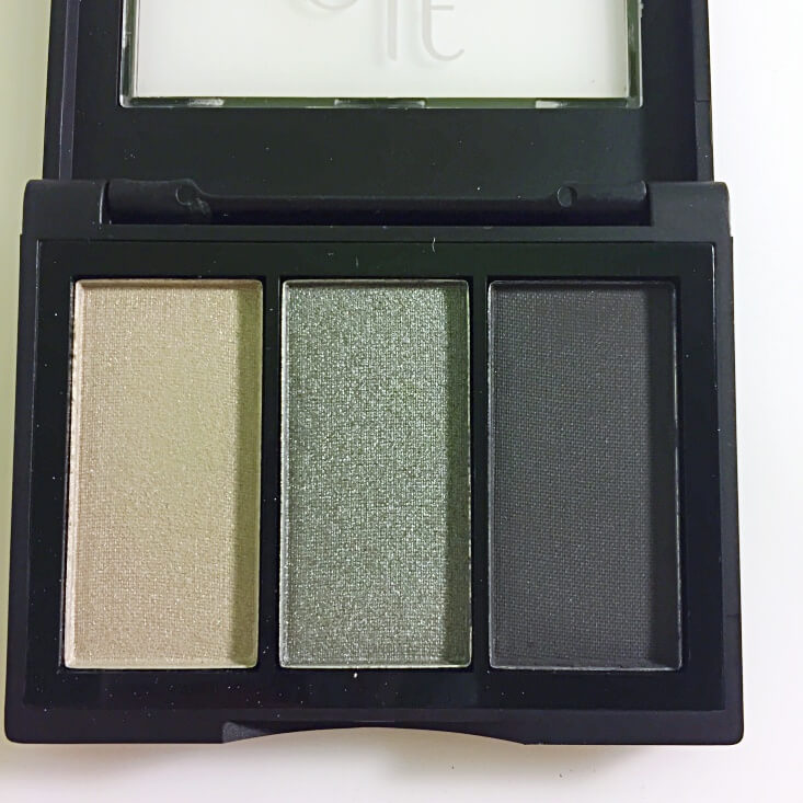 e.l.f. Sculpting Silk Eyeshadow Smoke Showstopper