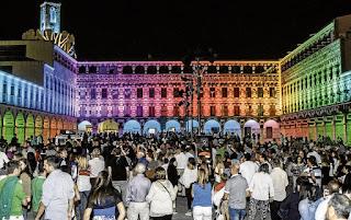 La Plaza Alta, La Noche en Blanco, Badajoz