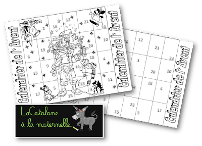 Calendrier de l'Avent version 2016 (LaCatalane)