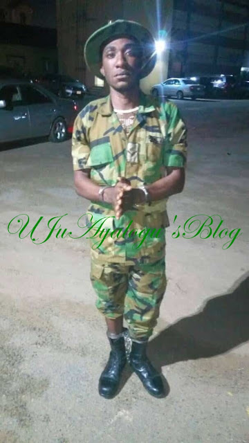 Soldier Member of Evans' Kidnap Gang ARRESTED, Makes Shocking Confession ... See Photo Soldier Member of Evans Kidnap Gang Arrested