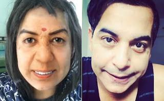 Image featured on NDTV for Gaurav Gera's video as Lata Mangeshkar rottenmangoman