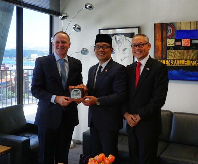 Ridwan Kamil Dapat Penghargaan Prime Minister Fellow