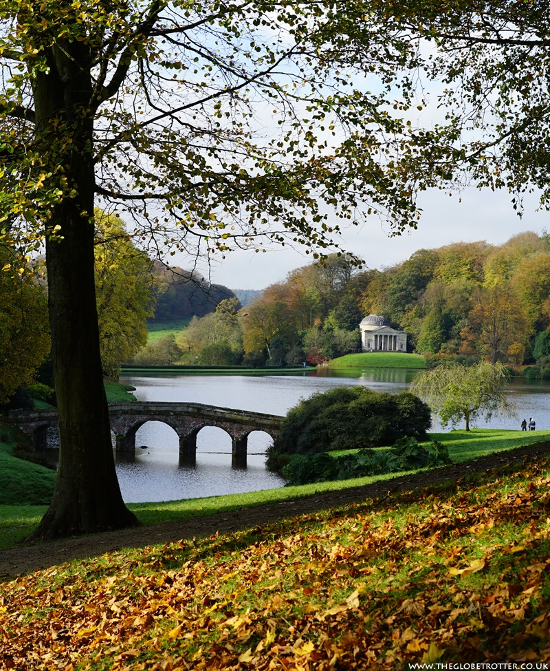 Stourhead Gardens in Wiltshire