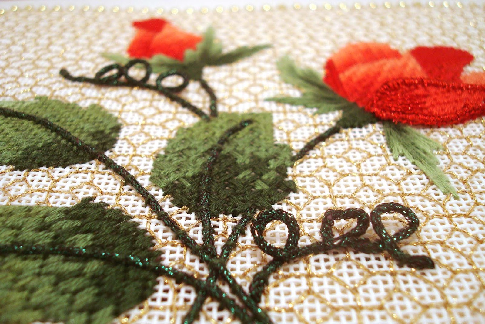 Kreinik thread blog a sparkling substitute for memory thread if youve heard the news that dmc is discontinuing their memory thread dont worry you can substitute kreinik wired braid the only difference is that nvjuhfo Image collections
