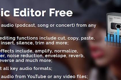 Cara Mengubah Video Menjadi MP3 Dengan Music Editor Free