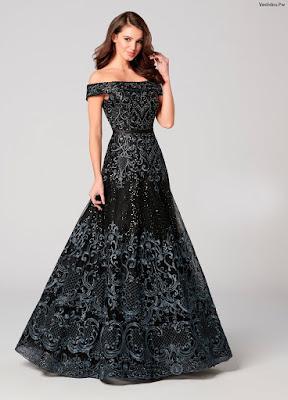 Vestidos largos de noche elegantes