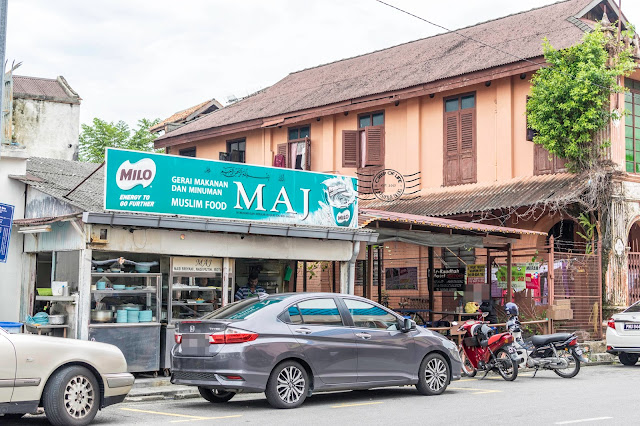 Maj Chapati Lebuh Ah Quee Georgetown Penang