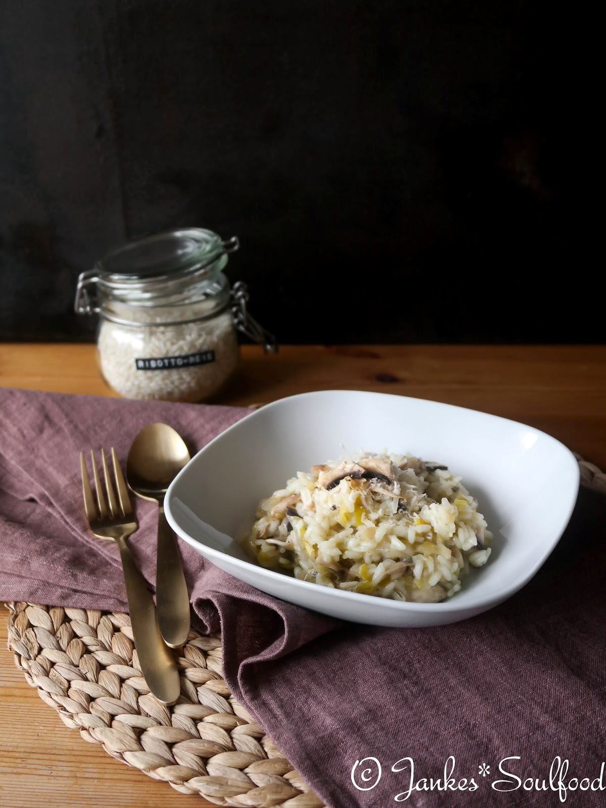Lauch-Risotto von Jankes Soulfood