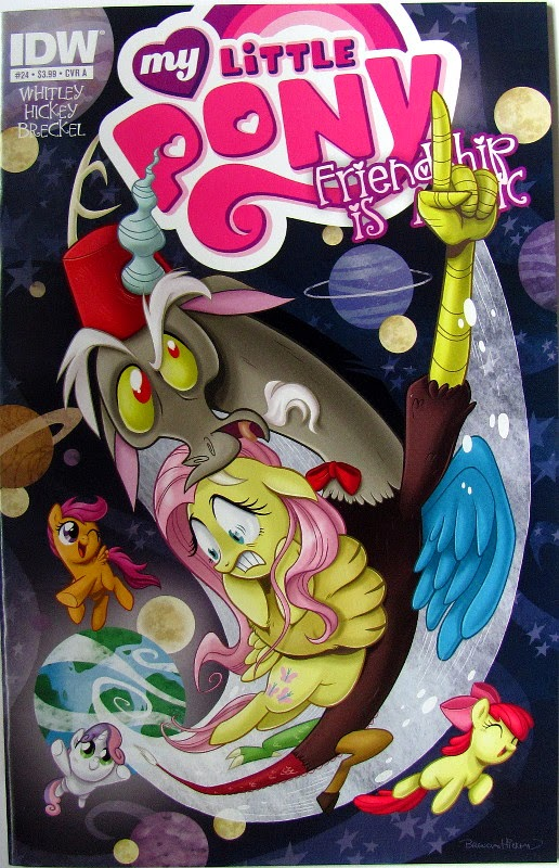 IDW MLP comic #24, cover A by Brenda Hickey