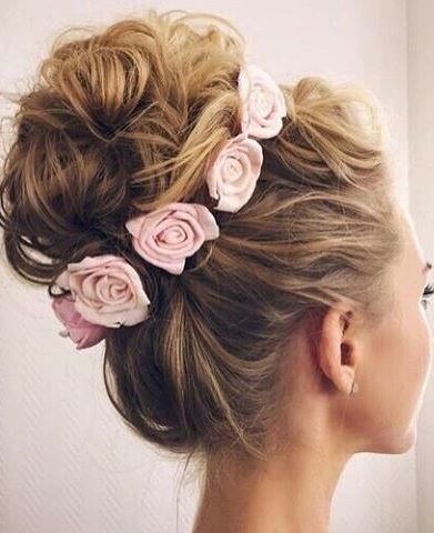 beauty hairstyle