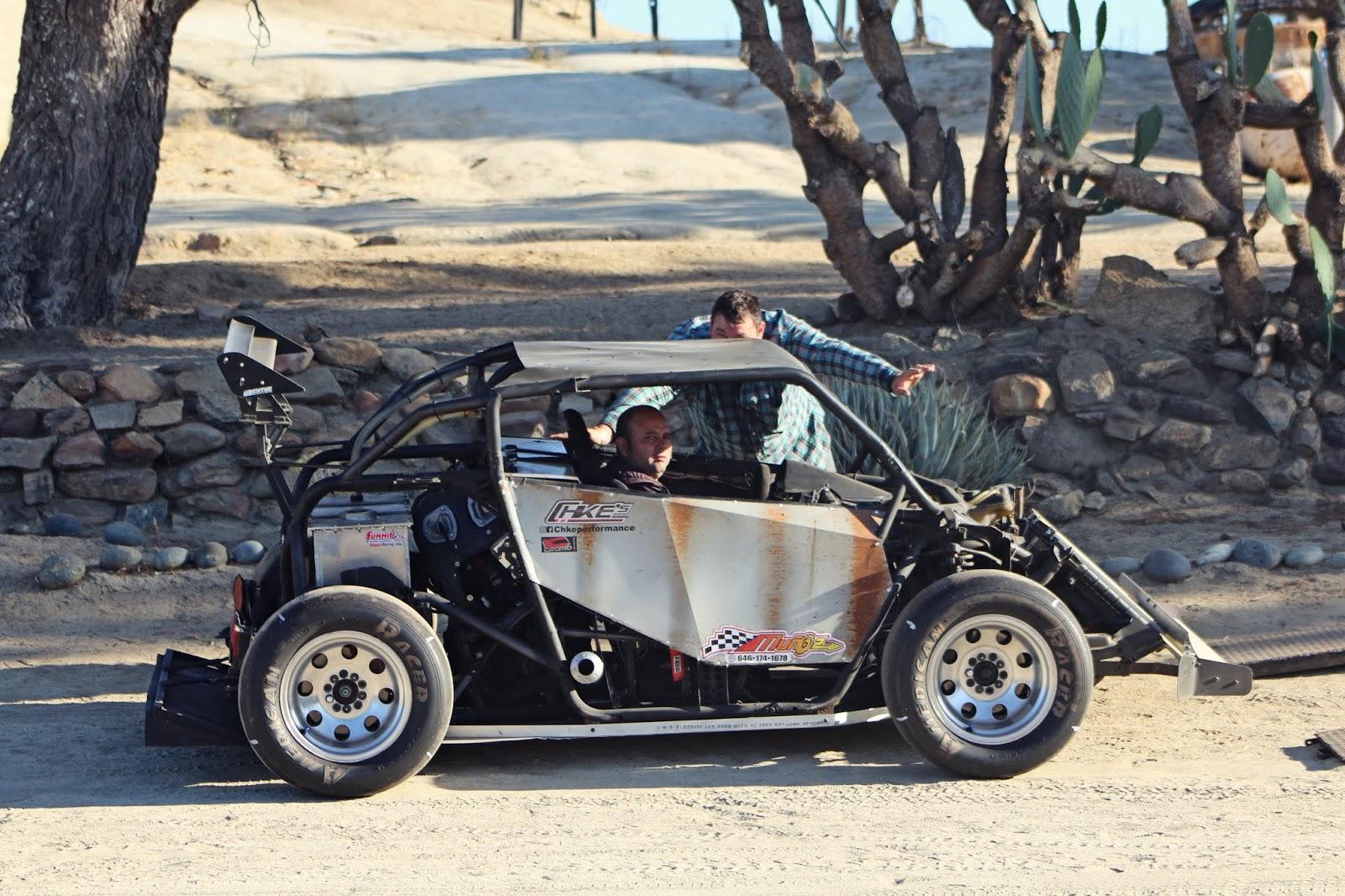 Homemade Hill Climb Car on