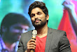 Allu Arjun at Oka Manasu Audio launch