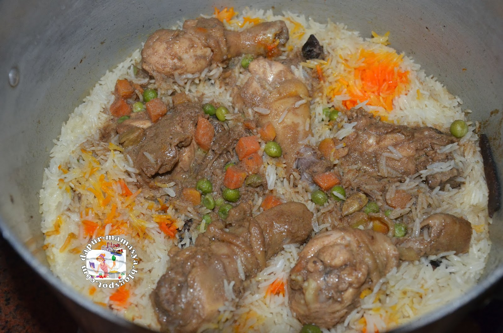 Resepi Nasi Arab Ayam Azie Kitchen Resepi Book K