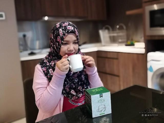 Misi Kurus Dengan STEA Pure Green Tea