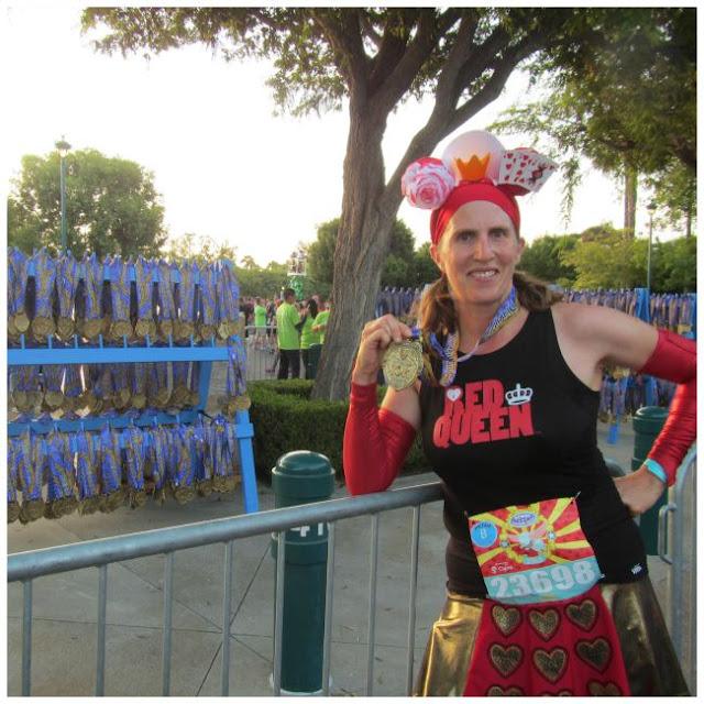 Disneyland 10k medal