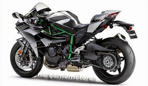 Harga Motor Kawasaki Ninja H2R