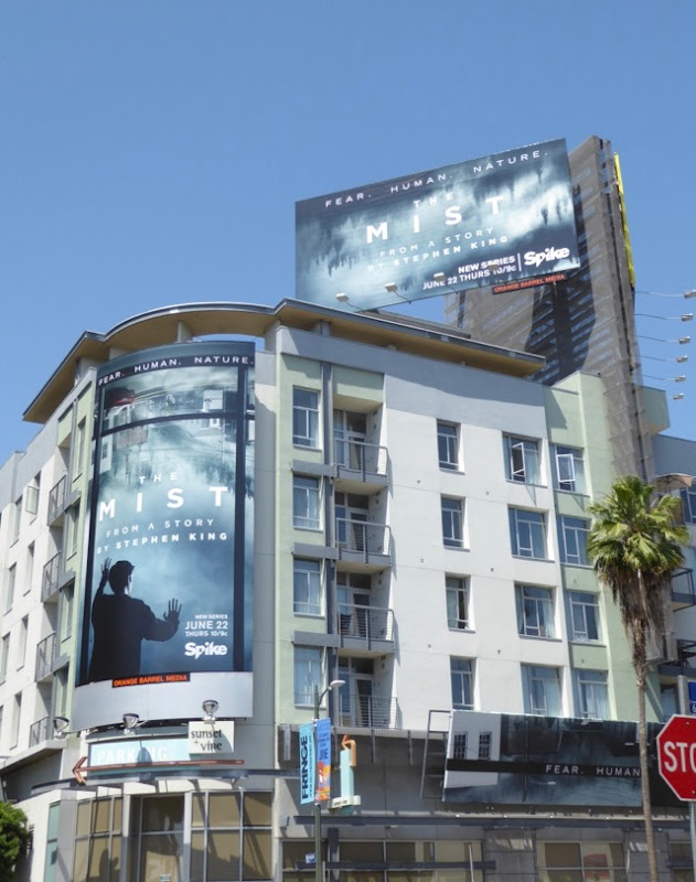 Mist series premiere billboards Sunset & Vine