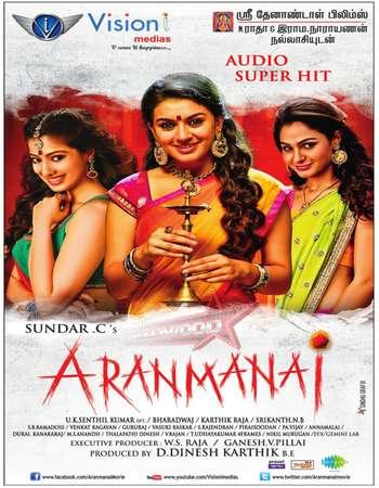 Aranmanai 2014 UNCUT Hindi Dual Audio HDRip Full Movie Download