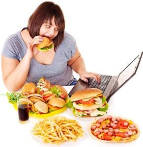 habitos que hacen subir de peso