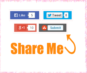 Add Social Media Share Buttons To Blogger