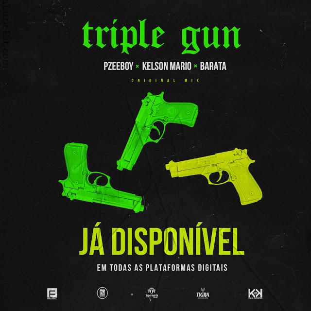 Download Mp3: Pzeeboy & Kelson Mário ft. Barata - Triple gun