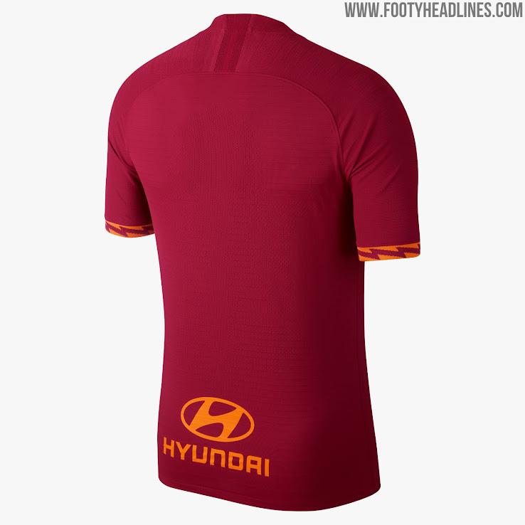 Nike AS Roma 19-20 Home Kit Released - Footy Headlines