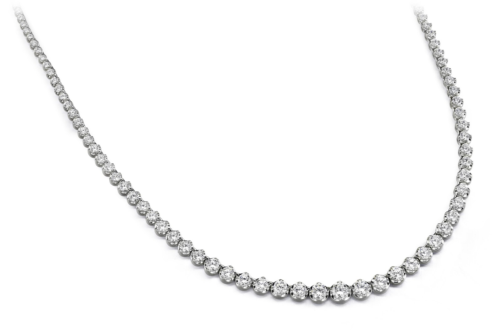 Perfect Diamond Strand Necklace from Anjolee Jewelry
