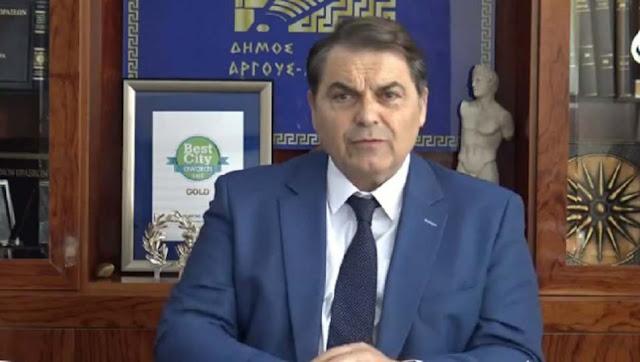 """Δημήτρης Καμπόσος: Προχωράει το έργο του κολυμβητηρίου - Το """"Ιστορικό Πάρκο"""" αλλάζει την ιστορία (βίντεο)"""