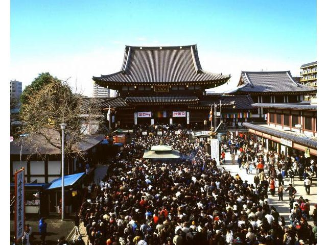 Osame-no Daishi at Kawasaki Daishi Temple, Kawasaki, Kanagawa