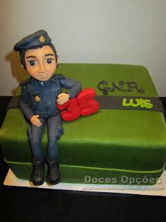 bolo aniversário gnr