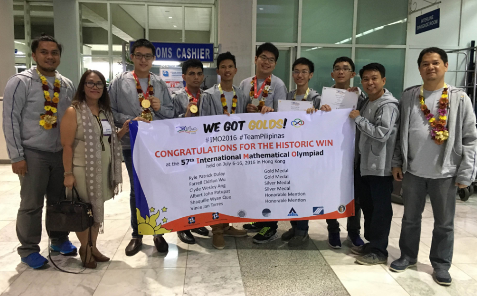 International Math Olympiad, Philippines Gold Medal