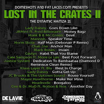 The Dynamic Hamza 21 - Lost In Crates II Tracklist