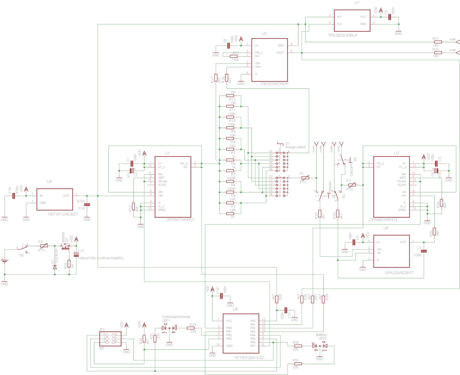 Kaktus Circuits Building A 100 Ma Transimpedance Amplifier