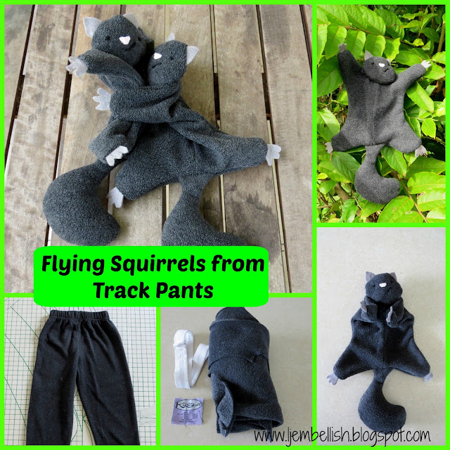 Flying Squirrels from Trackpants