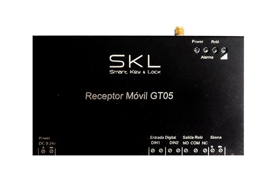 GT05 Receptor Móvil control de accesos desde el teléfono