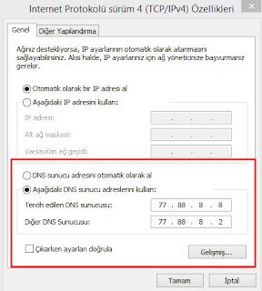 DNS-degistirme-yasakli-sitelere-giris