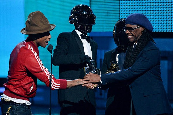 Daft Punk and Pharrell Williams Grammy Awards 2014