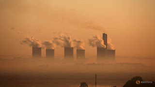 Steam rises at sunrise from the Lethabo Power Station, a coal-fired power station owned by state power utility ESKOM near Sasolburg, South Africa, March 2, 2016. (Credit: Reuters/Siphiwe Sibeko/File Photo) Click to Enlarge.Steam rises at sunrise from the Lethabo Power Station, a coal-fired power station owned by state power utility ESKOM near Sasolburg, South Africa, March 2, 2016. (Credit: Reuters/Siphiwe Sibeko/File Photo) Click to Enlarge.