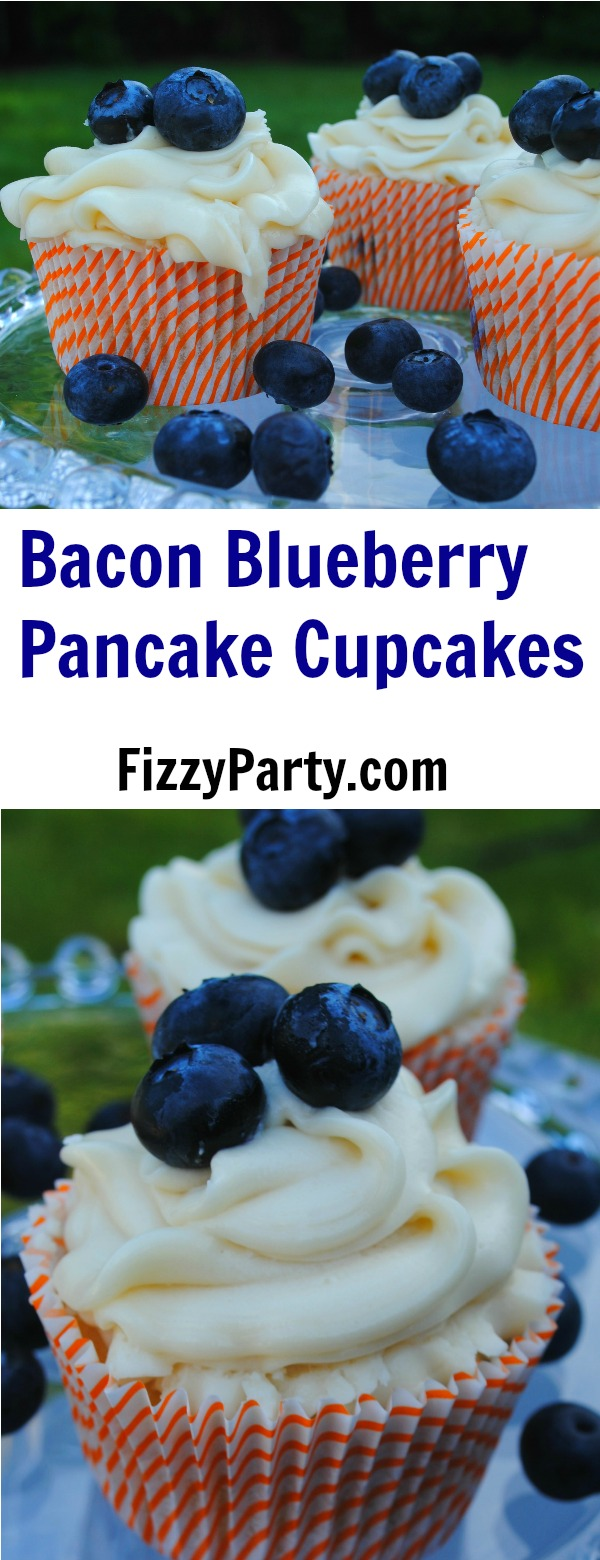 Bacon-blueberry-pancake-cupcakes
