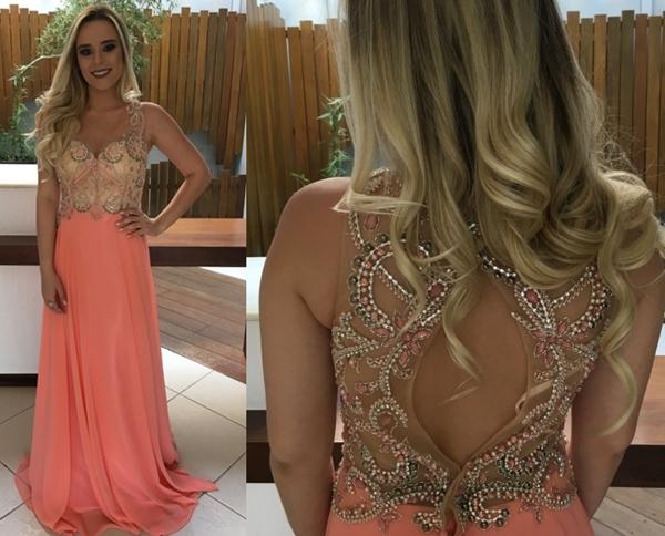 peach-dress