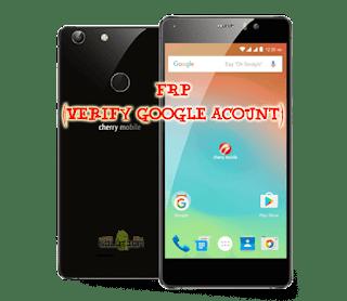 Cherry Mobile Flare X2 frp unlock