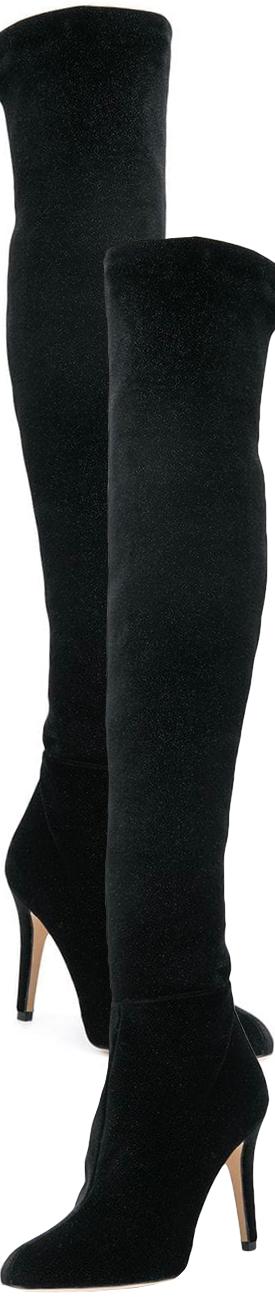 JIMMY CHOO Toni Boots shown in Black