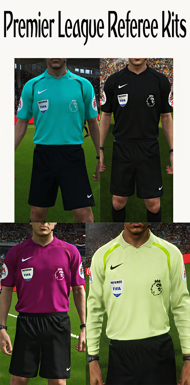 3a20c35e300 PES 2018 Premier League Referee Kits by Hawke