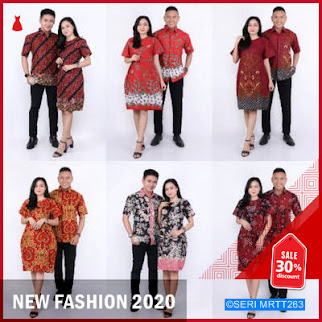 MRTT263M51 Maura Couple Sania Ruffle Batik Couple BMGShop