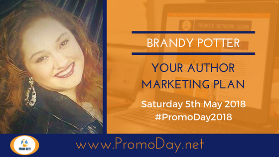 #Webinar: Your Author Marketing Plan with Brandy Potter #PromoDay2018