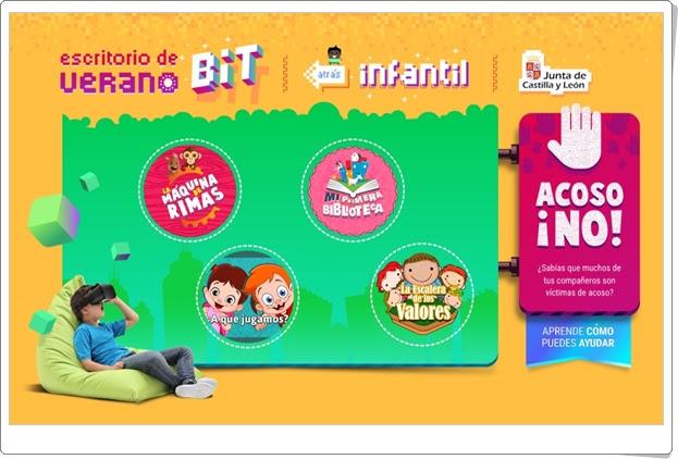 """""""Escritorio de Verano BiT 2017"""" (Juegos multidisciplinares de Infantil)"""