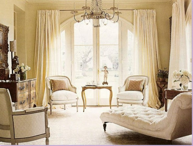 bergere chairs classic french living room Gerrie Bremmerman