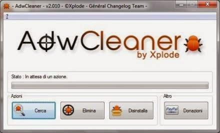 Problema Toolbar: eliminare le barre da chrome, explorer, firefox
