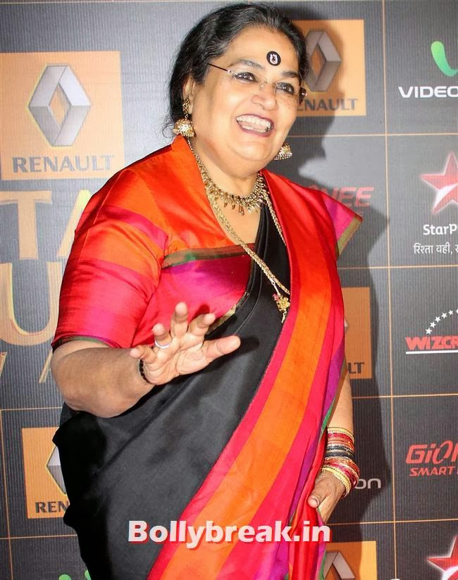 Usha Uthup, Star Guild Awards 2014 Pics